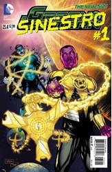 Picture of Green Lantern (2011) #23.4 Sinestro 2D Cover