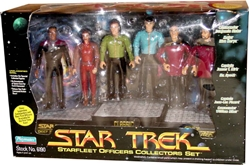 Picture of StarTrek Star Fleet Officers Figures Box Set
