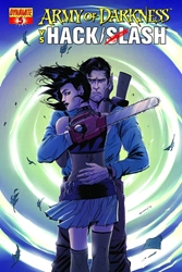 Picture of Army of Darkness vs Hack/Slash #5 Seeley Cover