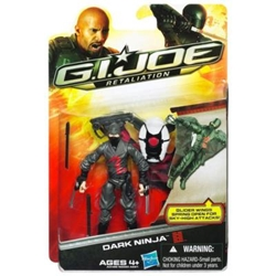 Picture of GI Joe Retaliation Dark Ninja Action Figure