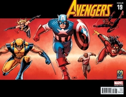 Picture of Avengers (2013) #19 Avengers Through the Decades 00s Cover