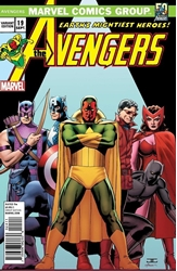 Picture of Avengers (2013) #19 Avengers Through the Decades 70s Cover