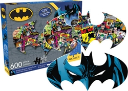 Picture of Batman Symbol Two-Sided 600-Piece Puzzle