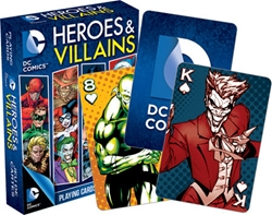 Picture of DC Heroes & Villains Playing Cards