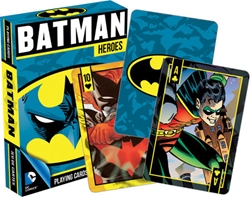 Picture of Batman Heroes Playing Cards