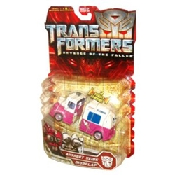 Picture of Transformers Revenge of the Fallen Skids and Mudflap Action Figures