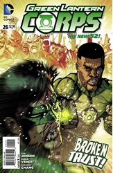 Picture of Green Lantern Corps (2011) #26