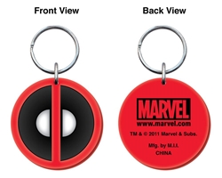 Picture of Deadpool Soft PVC Keyring