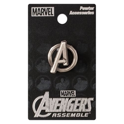 Picture of Avengers Symbol Pewter Lapel Pin