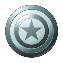 Picture of Captain America Shield Pewter Lapel Pin