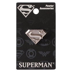 Picture of Superman Symbol Pewter Lapel Pin