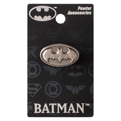 Picture of Batman Symbol Pewter Lapel Pin