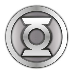 Picture of Green Lantern Symbol Pewter Lapel Pin