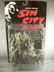 Picture of Sin City (Comic) Marv Black and White Action Figure