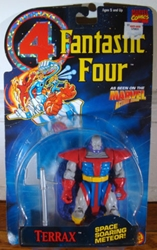 Picture of Fantastic Four Terrax Toy Biz Action Figure