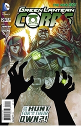 Picture of Green Lantern Corps (2011) #28