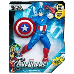 "Picture of Captain America Ultra Strike Avengers 12"" Figure"