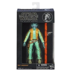 "Picture of Star Wars Black Series 6"" Greedo #07 Action Figure"