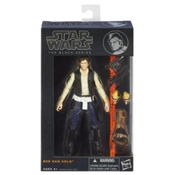"""Picture of Star Wars Black Series 6"""" Han Solo #8 Figure"""