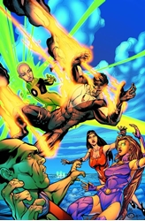 Picture of Justice League Beyond In Gods We Trust SC