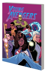 Picture of Young Avengers TP VOL 03 Mic Drop Edge Time and Space