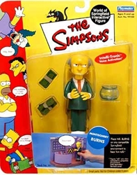 Picture of Simpsons World of Springfield Montgomery Burns Action Figure