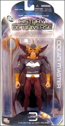 Picture of History of the DC Universe Series 3 Ocean Master Action Figure