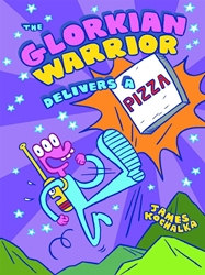 Picture of Glorkian Warrior Delivers a Pizza HC