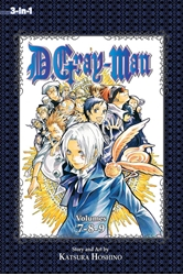 Picture of D.Gray-Man 3-in-1 Vol 03 SC