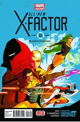 Picture of All-New X-Factor #1 2nd Print