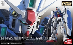 Picture of Gundam 1/144 RG #12 GP01 Zephyranthes RX-78 Model Kit
