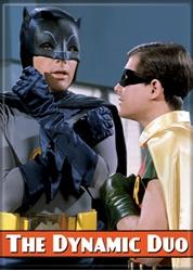 Picture of Batman & Robin Batman '66 Dynamic Duo Magnet
