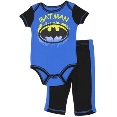 Picture of Batman Newborn Onesie 2-Piece Set