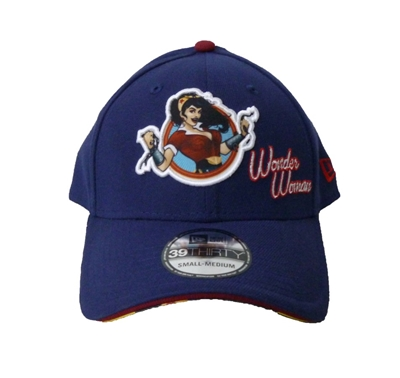 Picture of DC Bombshell Wonder Woman 39Thirty Bedrock City Exclusive Stretch Fit Cap