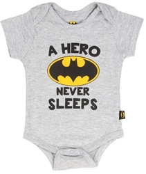 Picture of Batman Hero Never Sleeps Onesie