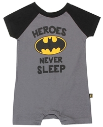 Picture of Batman Heroes Never Sleep Onesie
