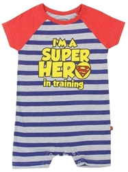 Picture of Superman Boys Romper Onsie
