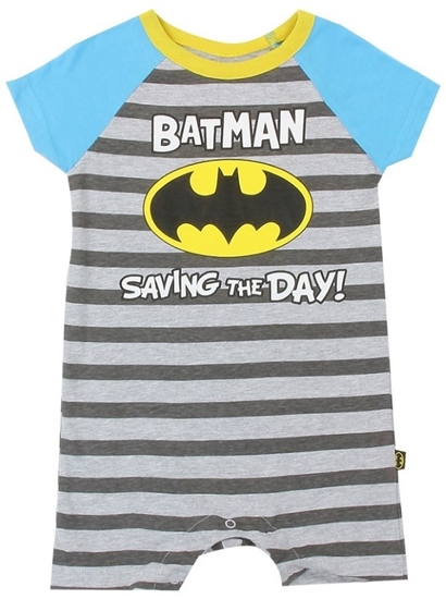 Picture of Batman Saving the Day Onesie