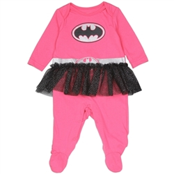 Picture of Batgirl Costume Sleeper Onesie