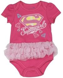 Picture of Supergirl Newborn Tutu Creeper