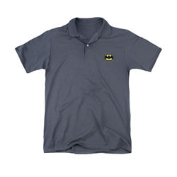 Picture of Batman Symbol Embroidered Polo Men's Tee