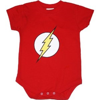 Picture of Flash Symbol Onesie