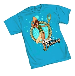 Picture of Aquaman Mera Bombshell Men's Tee