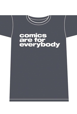 Picture of Comics Are for Everybody Men's Tee