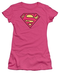Picture of Superman Logo Pink Women's Tee