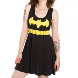 Picture of Batman Costume Scoop Neck Dress