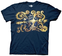 Picture of Doctor Who Van Gogh Pandorica Opens Men's Tee