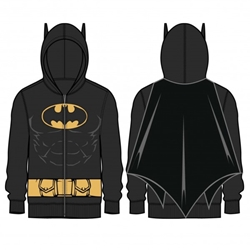 Picture of Batman Costume Men's Caped Hoodie