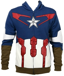 Picture of Captain America Suit Up Men's Hoodie