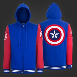 Picture of Captain America Varsity Hoodie
